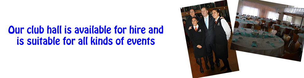 Hall Hire Banner
