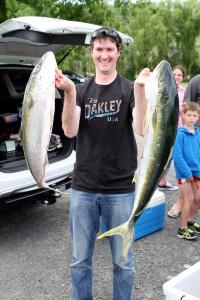 Shelley Beach Family Fishing Weekend - Winning Kingfish